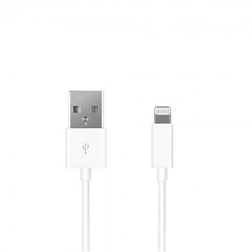 Кабель Prime Line 7201 White (1.2m, Lightning, Apple)