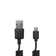 Кабель Prime Line 7209 Black (1.5m, microUSB, USB, витой провод)