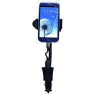 Держатель Partner Mini (в гнездо прикуривателя, ширина 58-85мм, кабель microUSB, 1.5А)