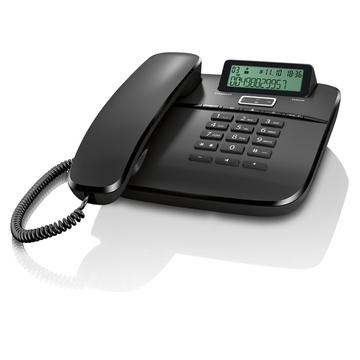 Siemens Gigaset DA610 Black (с поддержкой гарнитуры RJ9, 10 мелодий звонка, совместим со слуховым аппаратом)