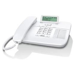 Siemens Gigaset DA710 White (АОН, с поддержкой гарнитуры RJ9, 10 мелодий звонка, совместим со слуховым аппаратом)