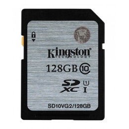 SDXC 128Гб Kingston Класс 10 UHS-I