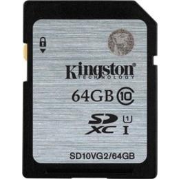 SDXC 64Гб Kingston Класс 10 UHS-I