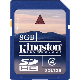 SDHC 08Гб Kingston Класс 4