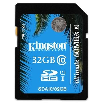 SDHC 32Гб Kingston Класс 10 UHS-I Ultimate