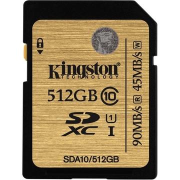 SDXC 512Гб Kingston Класс 10 UHS-I Ultimate