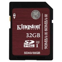 SDHC 32Гб Kingston Класс 10 UHS-I U3
