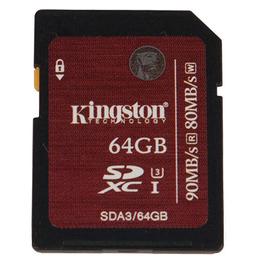 SDXC 64Гб Kingston Класс 10 UHS-I U3