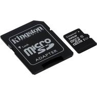 MicroSDHC 32Гб Kingston Класс 10 UHS-I 45MB/s (адаптер)