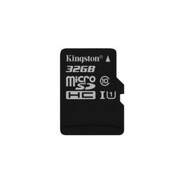 MicroSDHC 32Гб Kingston Класс 10 UHS-I 45MB/s (без адаптера)