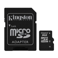 MicroSDHC 16Гб Kingston Класс 4 (адаптер)
