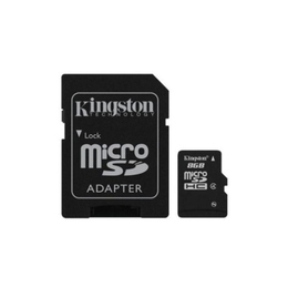MicroSDHC 32Гб Kingston Класс 4 (адаптер)