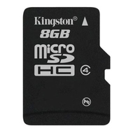 MicroSDHC 08Гб Kingston Класс 4 (без адаптера)