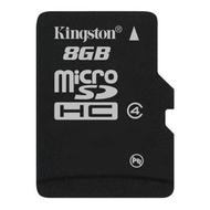 MicroSDHC 08Гб Kingston Класс 4 (без адаптера)