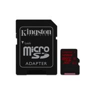 MicroSDXC 128Гб Kingston Класс 10 UHS-I U3 (адаптер)