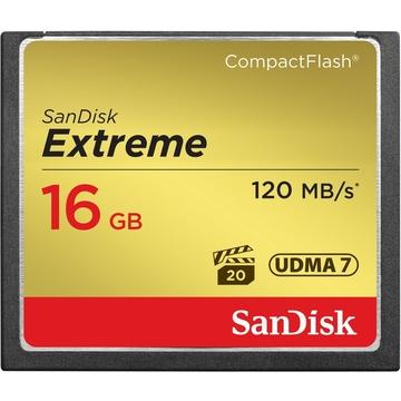Compact Flash 16Гб Sandisk Extreme 800X