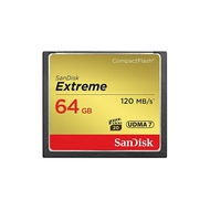 Compact Flash 64Гб Sandisk Extreme 120MB/s