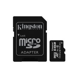MicroSDXC 64Гб Kingston Класс 10 Industrial Temp (адаптер)