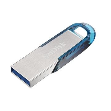Флешка USB 3.0 Sandisk Ultra Flair CZ73 3.0 32Гб Tropical Blue