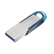 Флешка USB 3.0 Sandisk Ultra Flair CZ73 3.0 64 гб Tropical Blue