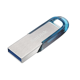 Флешка USB 3.0 Sandisk Ultra Flair CZ73 3.0 64 гб Tropical Blue