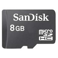 MicroSDHC 08Гб Sandisk Класс 4 (без адаптера)