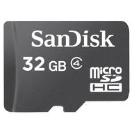MicroSDHC 32Гб Sandisk Класс 4 (без адаптера)
