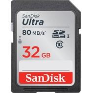 SDHC 32Гб Sandisk Класс 10 UHS-I Ultra 80MB/s