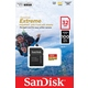 MicroSDHC 32Гб Sandisk Класс 10 UHS-I A1 Extreme for Action Cameras 90MB/s (адаптер)