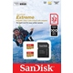 MicroSDHC 32Гб Sandisk Класс 10 UHS-I A1 Extreme for Action Cameras 90MB/s 2-Pack (адаптер)