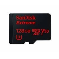 MicroSDXC 128Гб Sandisk Класс 10 UHS-I V30 U3 Extreme 100MB/s (адаптер)