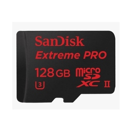 microSDXC 128Гб Sandisk Класс 10 UHS-I U3 Extreme Pro (адаптер USB 3.0)