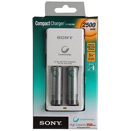 Зарядное устройство Sony Compact BCG34HW2EN (2 AA, 2500 мAh, 10/700, 2 шт, в пластике)
