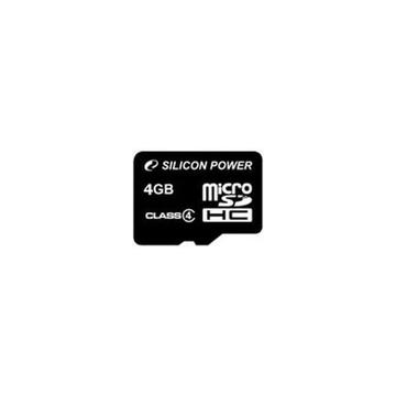 MicroSDHC 04Гб Silicon Power Класс 4 (без адаптера)