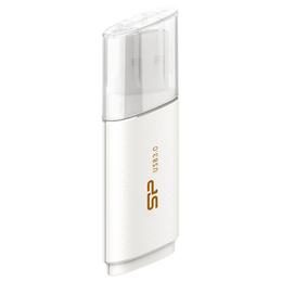 Флешка USB 3.0 Silicon Power Blaze B06 64 гб White