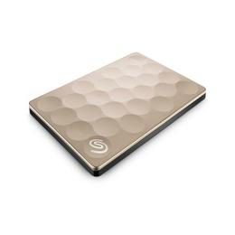 """Внешний жесткий диск 2Тб Seagate Backup Plus Ultra Slim Gold (2,5"""""""", USB3.0)"""