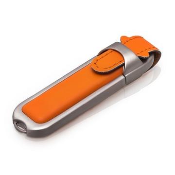 Накопитель под нанесение SuperTalent DL 16 gb Orange