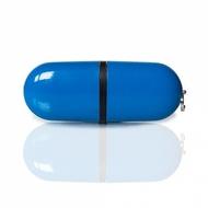 Накопитель под нанесение SuperTalent BP 2 Гб Blue