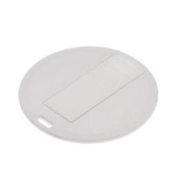Накопитель под нанесение SuperTalent CO-CD-ROUND 512MB White
