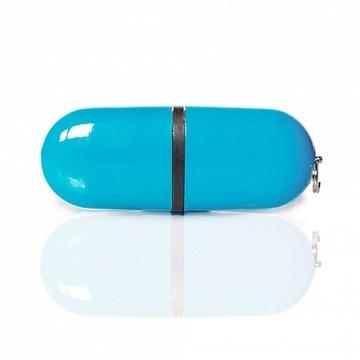 Накопитель под нанесение SuperTalent BP 64 ГБ Light Blue