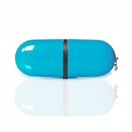 Накопитель под нанесение SuperTalent BP 8 GB Light Blue