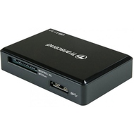 Картридер Transcend USB 3.0/3.1 RDC8K Black