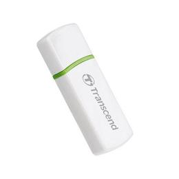 Card reader Transcend P5 White (SDHC/MMC4/MicroSDHC/M2)