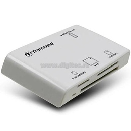 Card reader Transcend P8 White (all-in-1)