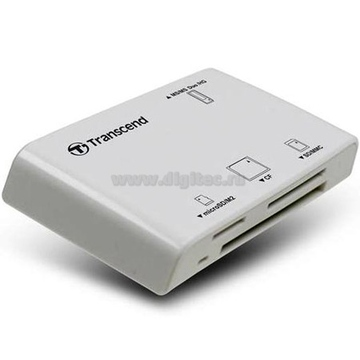 Card reader Transcend P8 White (all-in-1)