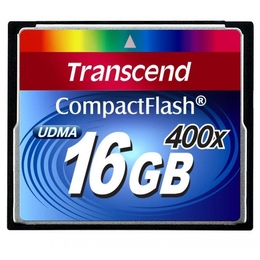 Compact Flash 16Гб Transcend 400X