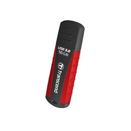 Флешка USB 3.0 Transcend Jetflash 810 16 Гб Black Red