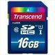 SDHC 16Gb Transcend Класс 10 UHS-I Premium