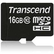 MicroSDHC 16Гб Transcend Класс 10 (без адаптера)