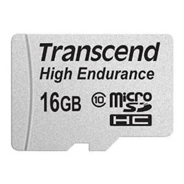 MicroSDHC 16Гб Transcend Класс 10 UHS-I High Endurance (адаптер)